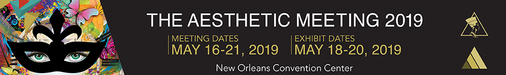 The Aesthetic Meeting 2019 in New Orleans